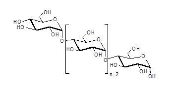 麦芽四糖(Maltotetraose)由α(1-4)链接D-葡萄糖单体缩合组成,聚合度为4。CASN:34612-38-9,货号:GLU314