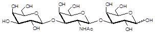 Core type 4 / Gb5 Triaose core structure,Galβ1-3GalNAcβ1-3Gal 。C20H35NO16 。货号:GLY126