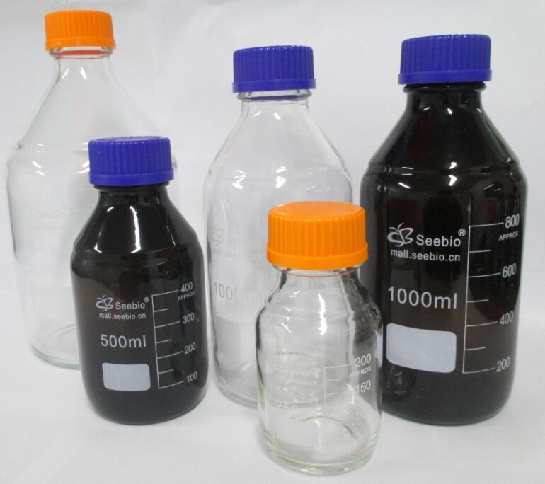 蓝盖棕色试剂瓶